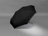 Ultra Mini Taschenschirm Damen Petito klein leicht windfest - black