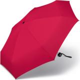 Ultra Mini Taschenschirm Damen Petito klein leicht windfest - red