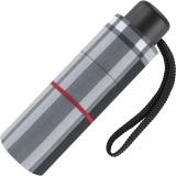 Ultra Mini Taschenschirm Petito klein leicht windfest - checks black