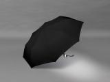 Taschenschirm Damen Auf-Zu Automatik Easymatic leicht stabil windfest - black