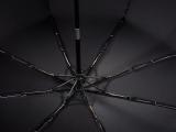 Taschenschirm Auf-Zu Automatik Easymatic leicht stabil windfest - checks black