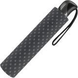 Taschenschirm Herren Auf-Zu Automatik Easymatic leicht stabil windfest - rhomb