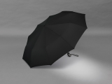 Taschenschirm Auf-Zu Automatik Gents Easymatic leicht stabil windfest - black