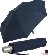Knirps Regenschirm Slim Duomatic - klein und leicht mit Auf-Zu Automatik - navy