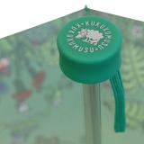 Super Mini Taschenschirm Kukuxumusu - Wiesentreiben - grün