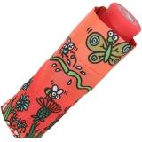 Super Mini Taschenschirm Kukuxumusu - Wiesentreiben - rot