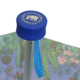 Super Mini Taschenschirm Kukuxumusu - Wiesentreiben - blau