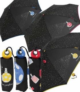 Mini Taschenschirm Damen Joy Heart klein und leicht - Parfum