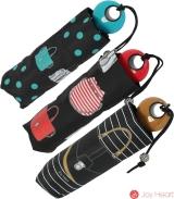 Mini Taschenschirm Damen Joy Heart klein leicht - purse Handtasche