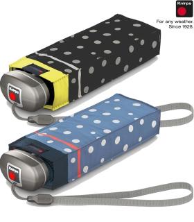 Knirps Regenschirm Mini Taschenschirm Travel klein leicht - flakes
