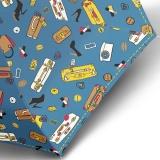 Knirps Regenschirm Mini Taschenschirm Travel klein leicht - miami atlantic