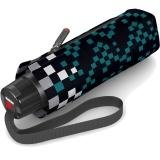 Knirps Super-Mini-Taschenschirm T.010 - klein und leicht - tokyo atlantic