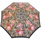 Doppler Manufaktur Regenschirm Stockschirm VIP Damen Elegance - wild roses red