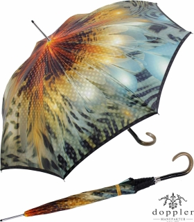 Doppler Manufaktur Regenschirm Stockschirm VIP Damen Elegance - gorgeous sunset