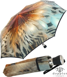 Doppler Manufaktur Damen Taschenschirm Elegance - gorgeous sunset
