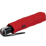 Knirps Regenschirm Taschenschirm Large Duomatic - red