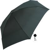 Samsonite Regenschirm Super Mini Taschenschirm mit Tasche Minipli Colori - schwarz