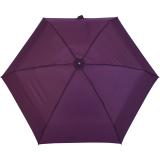 Samsonite Regenschirm Super Mini Taschenschirm mit Tasche Minipli Colori - bordeaux