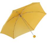 Samsonite Regenschirm Super Mini Taschenschirm mit Tasche Minipli Colori - gelb