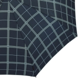 Samsonite Taschenschirm Herren Auf-Zu Automatik RHG edles Echtholz dark blue