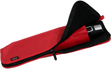 Knirps Sponge Bag Schirmtasche mit Reißverschluss für Taschenschirme - red