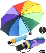 iX-brella Taschenschirm rainbow 10-teilig extra stabil...