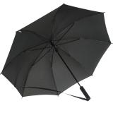 iX-brella Umhängeschirm Hands-Free - der Automatik-Regenschirm mit Gurt - schwarz