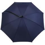 iX-brella Umhängeschirm Hands-Free - der Automatik-Regenschirm mit Gurt - navy-blau