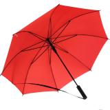 iX-brella Umhängeschirm Hands-Free - der Automatik-Regenschirm mit Gurt - rot
