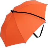 iX-brella Umhängeschirm Hands-Free - der Automatik-Regenschirm mit Gurt - orange