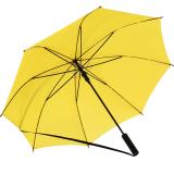 iX-brella Umhängeschirm Hands-Free - der Automatik-Regenschirm mit Gurt - gelb