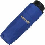 Ultra Mini Taschenschirm Damen Regenschirm Uni - royal-blau