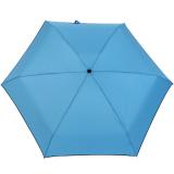 Ultra Mini Taschenschirm Damen Regenschirm Uni - aqua