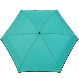 Ultra Mini Taschenschirm Damen Regenschirm Uni - mint