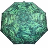 M&P Super-Mini Damen Taschenschirm Regenschirm Fotografico - Farn