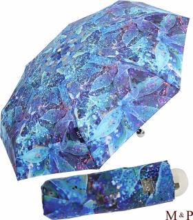 M&P Super-Mini Damen Taschenschirm Regenschirm Fotografico - Orchidee