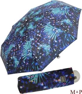 M&P Super-Mini Damen Taschenschirm Regenschirm Fotografico - Palme