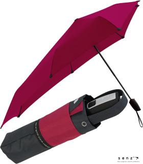 senz Taschenschirm - stabil und sturmfest - Auf-Zu-Automatik - painted pink