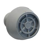 Antirutsch Krückenkapsel Stockkapsel Gummischützer mit Spikes und Schutzkappe 20 mm