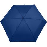 iX-brella Super-Mini-Taschenschirm - winziger Regenschirm im Etui - blau