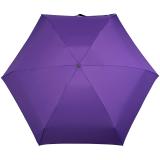 iX-brella Super-Mini-Taschenschirm - winziger Regenschirm im Etui - berry