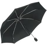 iX-brella stabiler Taschenschirm Mini Regenschirm mit Auf-Zu-Automatik - mid class schwarz