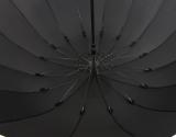 iX-brella Stockschirm 16teilig full-fiber mit Automatik - super stabil - 115 cm black