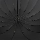 iX-brella XXL Partnerschirm 16teilig full-fiber mit Automatik - super stabil schwarz - 125cm