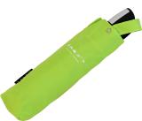 senz mini Taschenschirm - stabil und sturmfest - Handöffner - fine lime