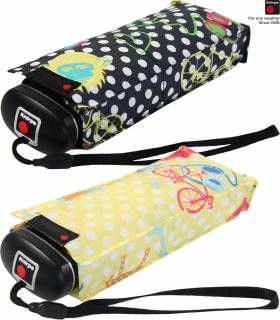 Knirps Regenschirm Mini Taschenschirm Travel klein leicht - Safari