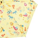 Knirps Regenschirm Mini Taschenschirm Travel klein leicht - Safari - sun