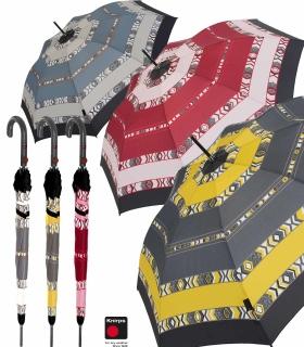 Knirps Damen Stockschirm T.703 Automatik - groß und stabil - Kenia