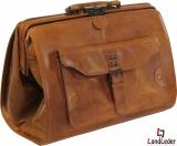 LandLeder Doc.Bag Leder Arzttasche Bügeltasche...