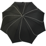 Pierre Cardin Stockschirm Damen groß stabil mit Automatik - Sunflower - schwarz